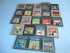 Original Game Boy & Color Games You Pick Choose Your Own $4.95 Each FREE Ship!