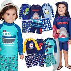 "Vaenait baby Toddler UPF+50 Kids Boys Rashguard Swimsuit Set ""Kids Boys"" 2-7T"