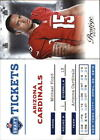 2012 Prestige NFL Draft Tickets -Finish Your Set -*WE COMBINE S/H*