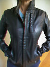 WOMENS G STAR 'ROUGH LEATHER JACKET' WMN RRP $800 - BNWT - SIZE M L