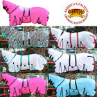 HILASON UV PROTECT MESH HORSE FLY SHEET WITH NECK COVER & BELLY WRAP ALL COLORS