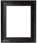 West Frames The Lodge Distressed Picture Frame Dark Espresso with Walnut Lining