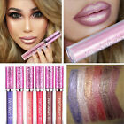 Shiny Iridescent Glitter Matte Liquid Lipstick Waterproof Makeup Lip Gloss Girls