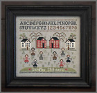 LITTLE HOUSE NEEDLEWORKS Cross Stitch Patterns,  JABC Buttons YOU CHOOSE!