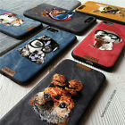 HOT!Hand embroidery cute dog JEANET TPU phone Case cover for iPhone 6 6S 7 Plus