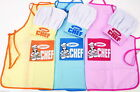 JUNIOR CHEF APRON & HAT SET COOKING KITCHEN PINK, BLUE or YELLOW KIDS CHILDREN