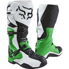 Fox 2017 Comp 8 MX/Motorcross Boots White/Black/Green - New Product!!