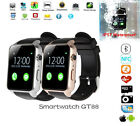 Chic Waterproof GT88 Bluetooth Smart Watch NFC Heart Rate For Android IOS HTC LG