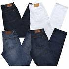 Tommy Hilfiger Jeans Mens Straight Leg Fit Denim Pants Casual Stonewashed New Th