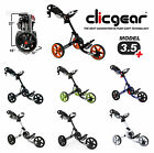 CLICGEAR 3.5+ GOLF TROLLEY - *NEW* - ALL COLOUR OPTIONS