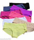 Seamless Stretch Briefs Knickers white black nude pink purple yellow skin blue