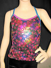 STUNNING LEOTARD/GYMNASTICS/DANCE - SINGLET TOP - NEW - GIRLS   8, 10, 12 !!!