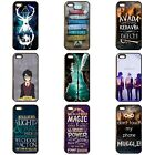 HARRY POTTER HOGWARTS MAGIC QUOTES HOUSES VOLDEMORT PHONE CASE iPhone SAMSUNG