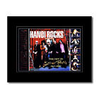 HANOI ROCKS - Street Poetry Mini Poster - 13.5x21cm