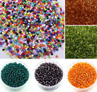 Wholesale 1000pcs 2mm Czech Glass Seed Round Spacer Beads Jewelry Making DIY
