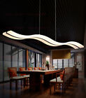 Внешний вид - 38W Modern Acrylic LED Wave Chandelier S shape Pendant Lights Ceiling Lamp