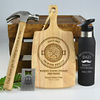Personalised Favours Happy Father's Day Luxury Gift Hamper - Hammer, Board, More
