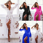 Women's Sexy-Lace Lingerie Nightwear G-string Dress Sleepwear Underwear Babydoll