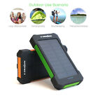 X-DRAGON 20000mAh 2USB Solar Charger Battery Power Bank for iPhone 6 6S 7 8 Plus