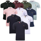 Mens Brave Soul Glover Golf Top Polo T-Shirt Casual Summer Top