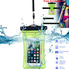 Waterproof Floating Phone Case Dry Bag Pouch Strap F iPhone X 6 7 8 Plus Samsung