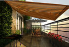Shade Sail Garden Canopy Window Carport Awning Canopy Strip Outdoor Awning Brown