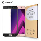Tempered Glass for Samsung Galaxy A5 A7 2017 Screen Protector Almost Full Cover