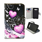 Flip Leather Stand Wallet Pouch Phone Cover Case For Samsung J1 J2 J5 J7 E7 E5