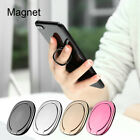 Ultra Thin Magnetic Phone Car Mount Stand Holder 360° Rotation Finger Ring Grip