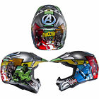New HJC Motocycle Off Road Bike Moto X Cross Youths Avengers Helmet Size S-XL