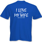 I Love My Wife - Sky Dive ~ Mens Funny T-Shirt