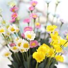 15Heads Artificial Small Daisy Fake Silk Flower Hanging Party Wedding Home Decor