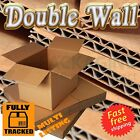 """THICK D/W Moving Cardboard Cartons Boxes 14x10x12"""""""