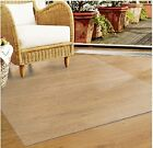 CLEAR CALDER CARPET MAT PROTECTION PROTECTOR HOME OFFICE