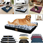 Extra Large Dog Cat Bed Cushion House Waterproof Soft Warm Kennel &Replace Cover
