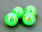10mm 40/100/../300pcs IRIDESCENT OPAQUE ACRYLIC PLASTIC ROUND BEADS TY2345