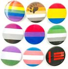 Assorted LGBT Pride 59mm Button Badges 9 Various Designs