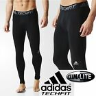 adidas Mens TECHFIT Base Long Sports Tights Gym Workout Supportive Base Layer