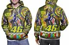 Cool Valentino Rossi The Doctor Zipper Hoodie Mens RARE ITEMS
