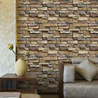 45*100cm Vintage Wall Sticker Wall Bricks Sticker for Bedroom Kitchen Decor