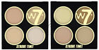 W7 Strobe Time Highlighting Palettes - Shimmer Highlighter Face Sparkle Powder