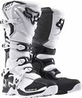Fox 2018 Comp 5 Adult MX/Motorcross Boots - White - New Product!!