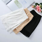 Black White Lady Lace Safety Pants Short Skirt Under Short Leggings Women Slips