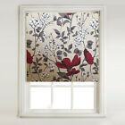 Jasmine Red Thermal Blackout Roller Blind + METAL BRACKET FITTINGS
