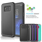 For Samsung Galaxy S8 / S8 Plus Shockproof Hybrid Rugged Rubber Hard Case Cover