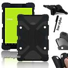 New Shockproof Soft Silicone Stand Cover Case For Linx 7 / 8 Tablet + Stylus
