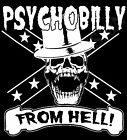 Psychobilly From Hell Sweatshirt Top T-Shirt Gift Rock And Roll 50's Punk 80's