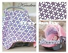 WHOLE CABOODLE CARSEAT CANOPY BABY SEAT COVER 5 PC SET or HANDLE NEW ~ KENDRA ~