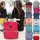Multifunctional Baby Diaper Nappy Mummy Backpack Waterproof Large Changing Bag