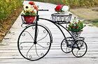 Metal Flower Pot Rack Step Style Plant Display Stand Wrought Iron Shelf Pot USA